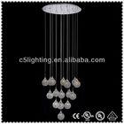 Hanging Ball Modern Moroccan Crystal Chandelier Lamp