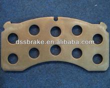 Truck Brake pad Back Plate WVA29124 for Mercedes Benz