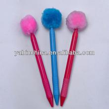 Promotion Gift Plastic Fluffy Ballpoint Pen