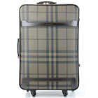 2014 new design Travel Luggage Bags, Genuine Leather Trolley Case,Suitcase 24 inch