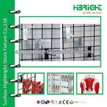 wire rack gridwall display hook