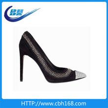 fashion ladies wedding shoes ivory high heel