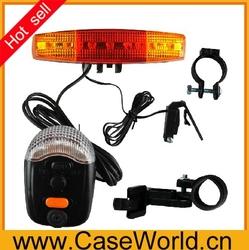 3 in 1 Bicycle Bike Cycling 7 LED Turn Signal Brake horn Light Lamp