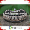 fashion survival braiding cord bracelet jewelry