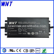CE UL TUV CB approved 3000mA constant current waterproof IP67 55W 18v led driver