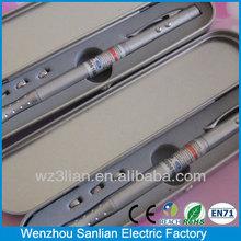 money detector mutifunction 1 LED Flashlight uv light pen with laser pointer
