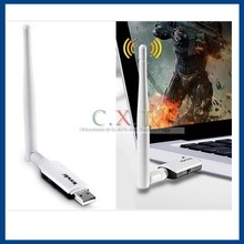 LB-LINK BL-LW06-AR Mini 300Mbps WiFi Wireless N USB Network Adapter with Antenna (White)
