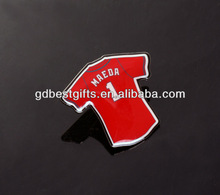 custom offset printing lapel pin with different color