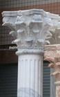 white marble roman pillar capitals