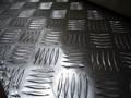 1060 1100 3003 acier plat checkered plancher en aluminium