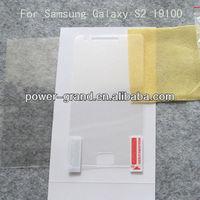 Screen saver film for Samsung Galaxy S2 S 2 II I9100