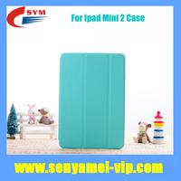 High Quality Tri-Fold Ultra Thin PU Leather Smart Cover Case For Apple iPad 2 Mini with Retina Display