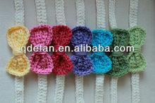 Crochet Tie Back, headband, halo, Baby Accessories, Newborn Size, infant, toddler, girl