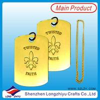 Wholesale pet id tag,pet tag,dog tag wholesale custom military dog tags aluminum plate metal lapel name tag manufacture