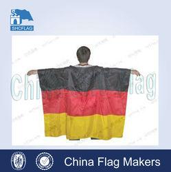 100D polyester custom printed body cape flag