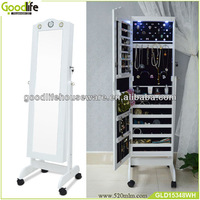 Modern bedroom dressing mirror with jewelry storage from goodlife