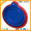 Colorful Flexible Fda Lfgb Silicone Travel Bowl Silicone Pet Bowl