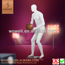 fashion sports playing basketball mannequin