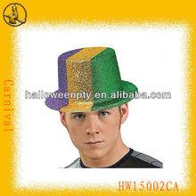 carnaval de sombreros de copa de pvc divertido sombreros sombreros de payaso