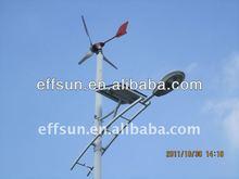 Real 2014 coste de fabricación 20w 30w 40w 50w 60w 80w 120w aerogenerador de viento& híbrido solar led luces de la calle