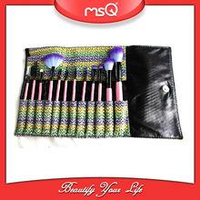 MSQ 12pcs high quality synthetic hair makeup brush set