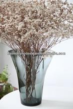 handblown colored glass vases