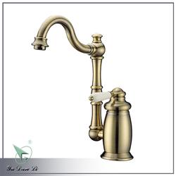 dual flow spout kitchen faucet 1470YB