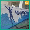 Advertising banner mesh fabric with eyelets