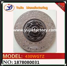 1878080031/1878080002 clutch disc 430mm non-asbestos