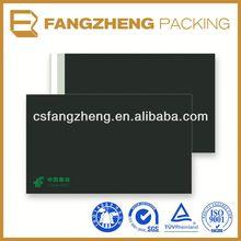 High quality full color printing destructive glue hard plastic envelopes