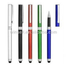 2014 stylish plastic crystal ballpoint stylus pen