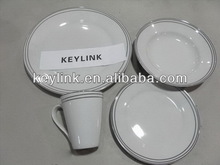 Best quality discount colorful acrylic dinnerware set