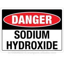 DANGER: Sodium Hydroxide - SS117