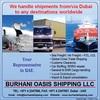 Freight service from Dubai to Baku