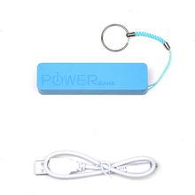 Power Bank External Portable 2600 mAh USB Battery Charger Blue