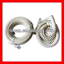 6P4C,6P2C,4P4C,RJ11 Telephone cable