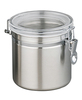 high quality stainless steel tea canisters with great sealing property