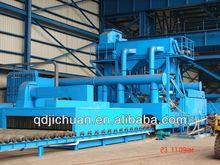 Steel plate shot blasting machine foundry machinery