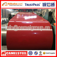 Prepainted steel coil for building material supplied by china manufacturer directly