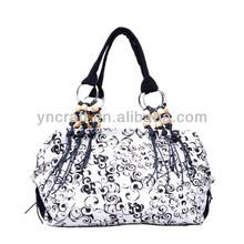 Cotton Portable Mature Shoulde Bag For Office Ladies