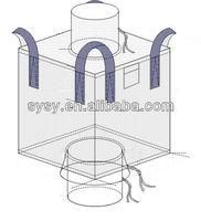 export quality 1000kgs,1500kgs,2000kgs PP bulk bag/jumbo bag with top skirt
