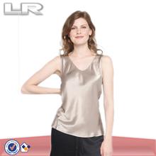 Girls Plain ladeis Satin Wholesale Silk Wholesale Vest
