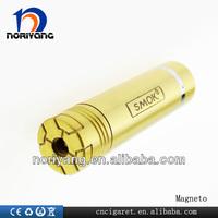 2014 hot selling mechanical designed mod fit on 18350/18650 battery variable voltage smok magneto mod telescope mod e cig
