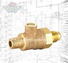 WD-1107 Backflow Preventer water solenoid valve Test stop ball Cock valve
