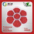 de plástico rojo masterbatch nylon textil