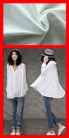 High yarn count and density poplin fabric for high class shirt