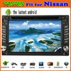 """Hot selling 6.2"""" 2 din android 4.0 nissan pathfinder oem gps"""