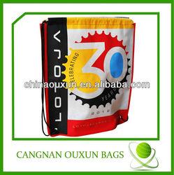 Cute bag with korea silk drawstring