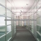 Tempered glass door Interior/Exterior,10mm,12mm,hole or polished edges,Heat Soaked clear tempered glass EN12150,CE certificated