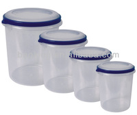 4pc round storage container set